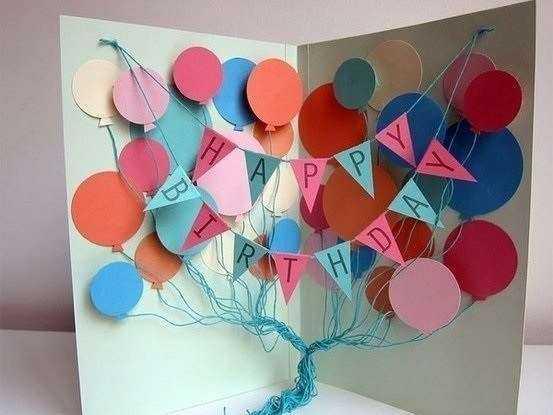 Alles Gute zum Geburtstagskarten machen es selbst