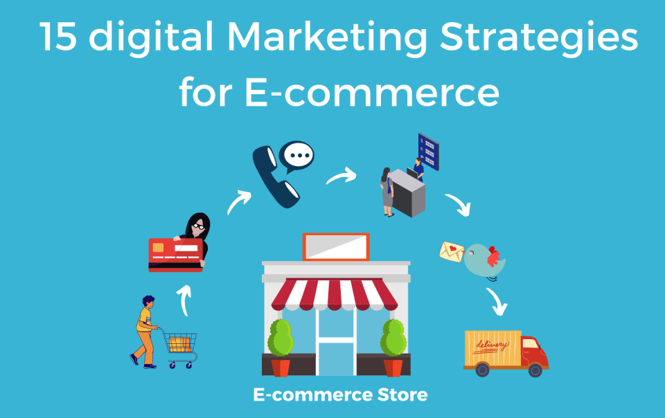 15 digital Marketing Strategies for E-commerce