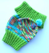 Baby vest and beanie