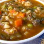 Beef Vegetable Soup Rachel Ray