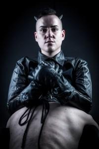 Master Dominic slave Leather Hood Gloves Jacket London UK BDSM