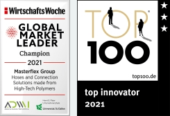 Masterflex UK Global Market Leader & Top Innovator 2021