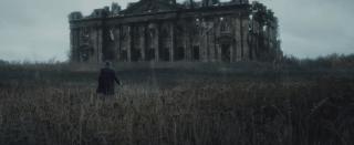Wayne Manor in ruins