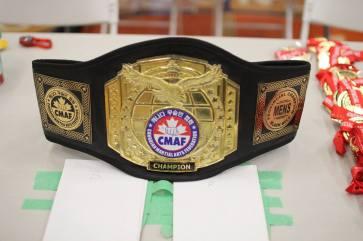Adult Men's Black Belt Grand Champion Sparring belt