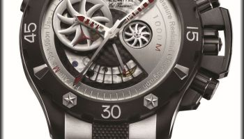 ZENITH Defy Xtreme Open diving chronograph with 1000 meters water resistance