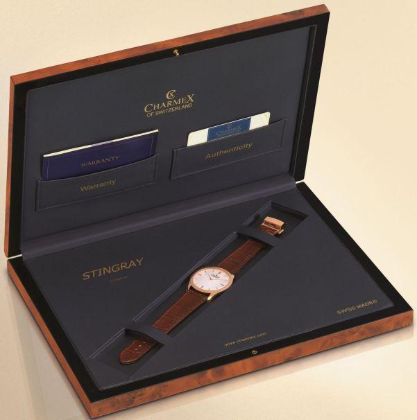 Charmex Stingray watch with box