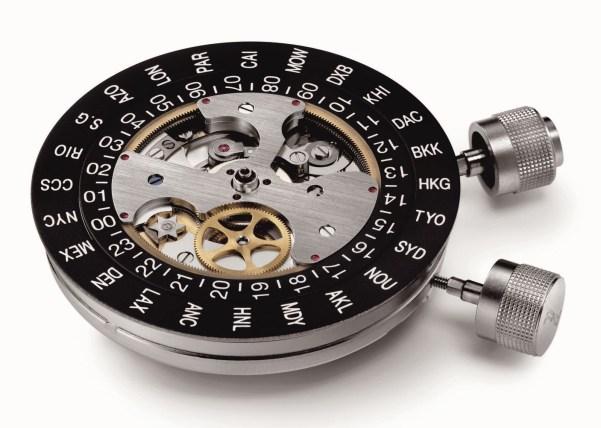 Porsche Design Worldtimer P'6750 watch movement