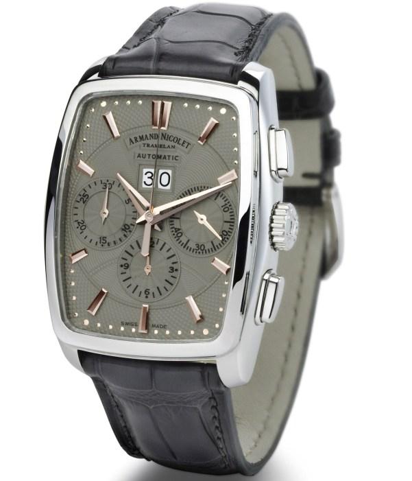 Armand Nicolet TM7 Tonneau watch