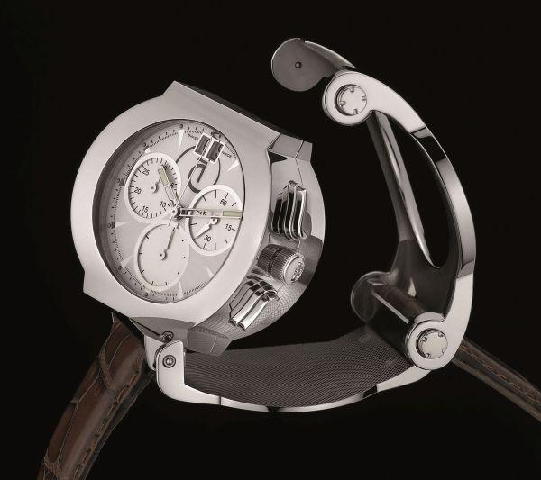 Enila Round Reversible Chronograph