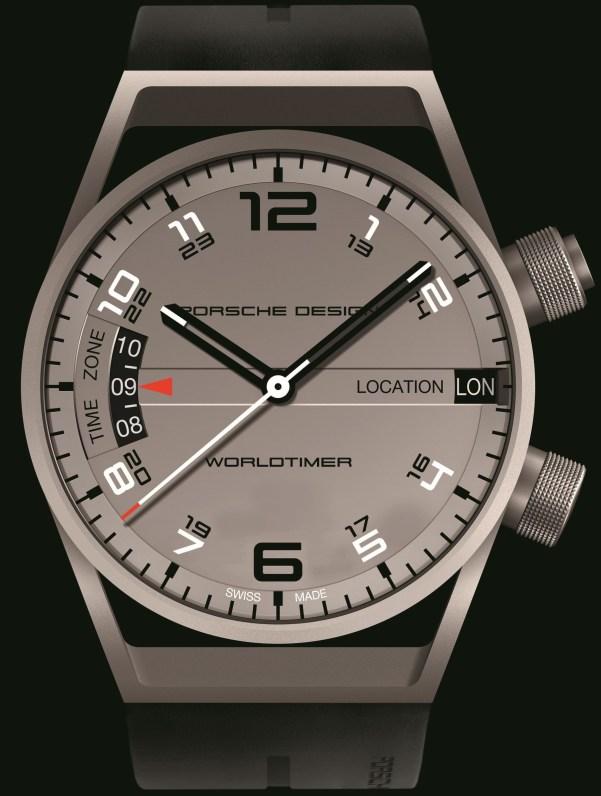 Porsche Design Worldtimer P'6750 watch matte titanium version