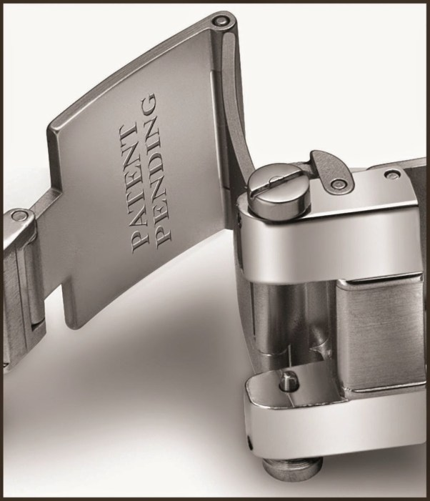 Steel, Chicane bracelet with bracelet extender system (patent pending), Déclic folding clasp (patent pending)
