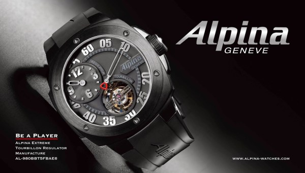 Alpina Extreme Tourbillon Regulator Manufacture Limited Edition
