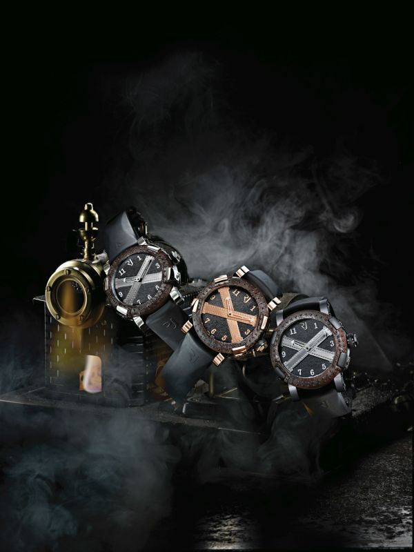 Romain Jerome 'Made with parts of the Titanic' Ala Grande, DNA of Famous Legends