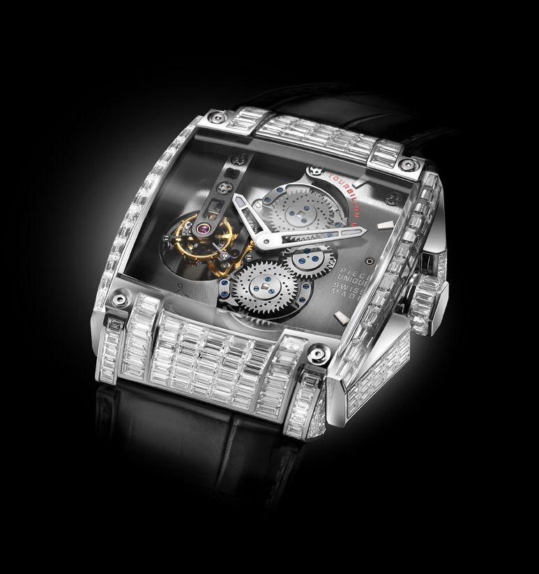 Rebellion REB-5 Tourbillon Full Diamond watch