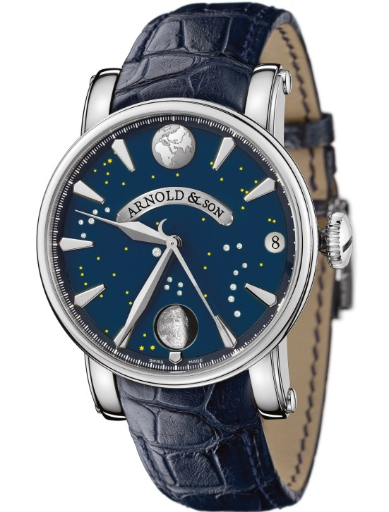 Arnold and Son True Moon watch stainless steel version