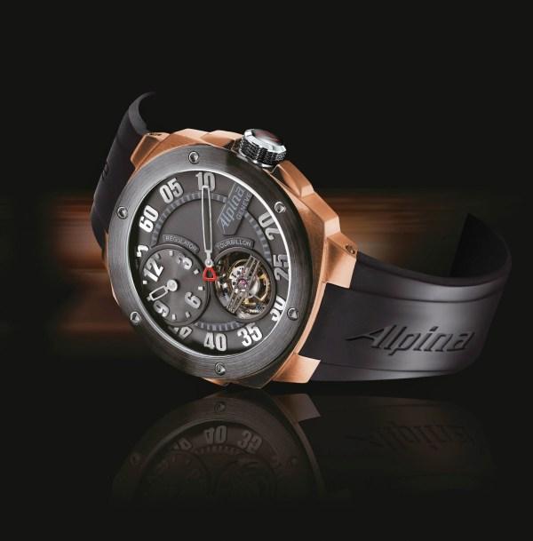 ALPINA Extreme Tourbillon Regulator Manufacture Gold Limited Editions