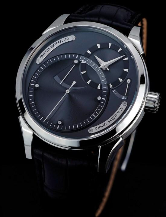Grönefeld One Hertz Ruthenium watch