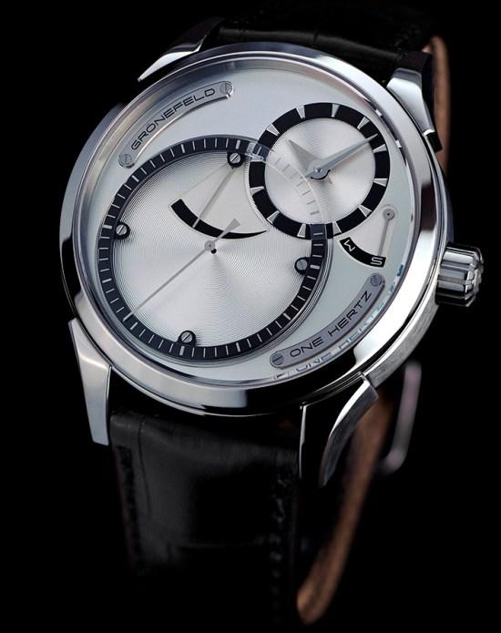 Grönefeld One Hertz Titanium Classic watch