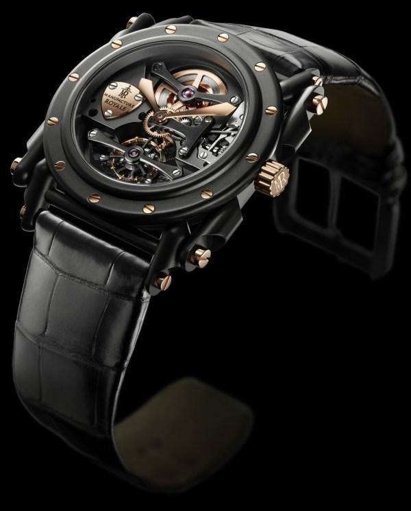 Manufacture Royale Androgyne Full Black & Rose gold
