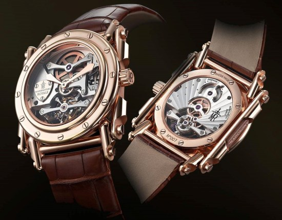 Manufacture Royale Androgyne Rose gold