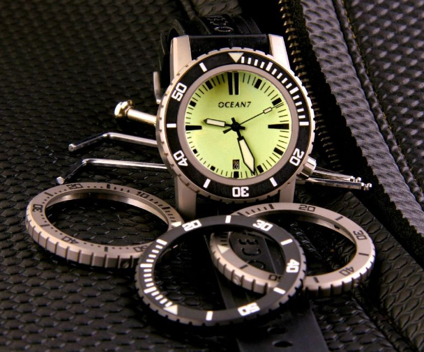 OCEAN7 LM-1 - World's First User Customizable Professional Diver's Watch