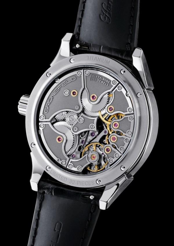 "Gronefeld ""One Hertz Techniek"" watch movement"