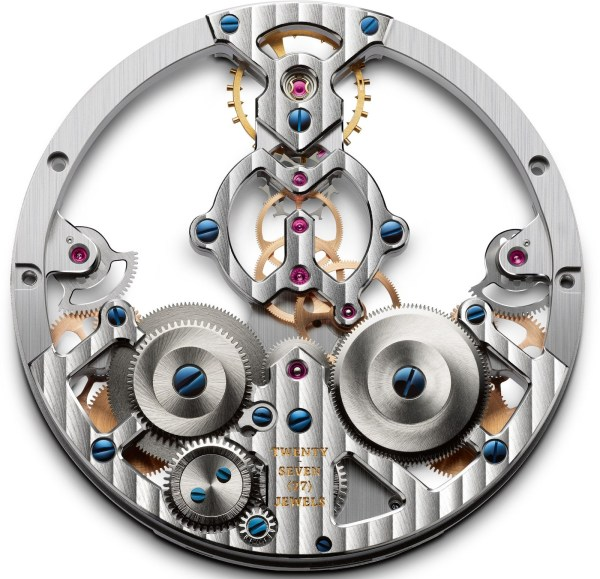 Arnold and Son Time Pyramid watch movement Calibre A&S1615