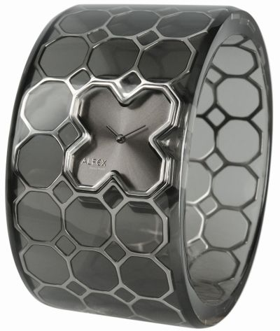 Alfex Watch Collection 2013 - Translucent 8X bangle-watch