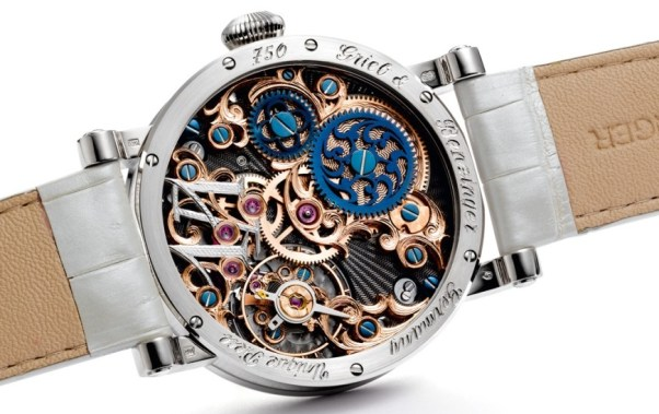 GRIEB & BENZINGER White Dragon Pavé Watch, in Association with MARCUS Watch Boutique, London