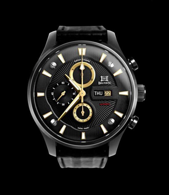 BELTONN Black N05 ECLYPSE watch