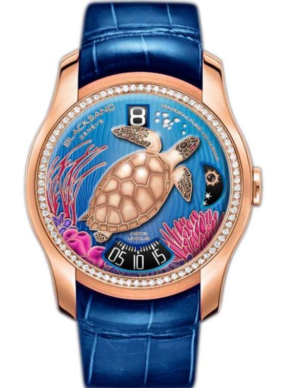 """BLACKSAND GENÈVE Continuity Ocean Unique watch for """"Bal du Printemps"""" 15th Anniversary"""