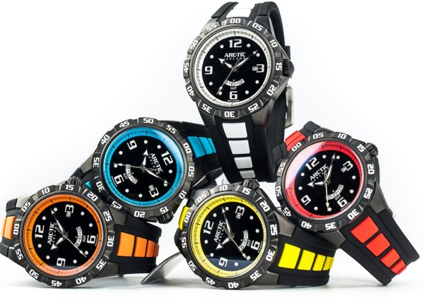 ARC-TIC Iceland IMT (Iceland Mean Time) Extreme Sports Watch Collection