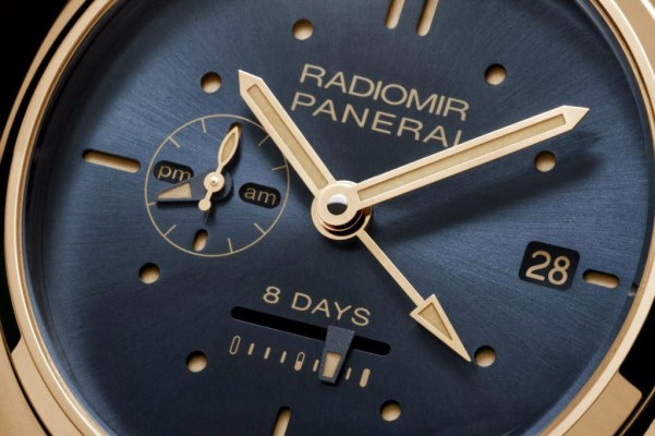 PANERAI Radiomir 8 Days GMT Oro Rosso – 45mm(Reference: PAM00538)