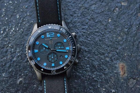 Elliot Brown Bloxworth diver sports chronograph