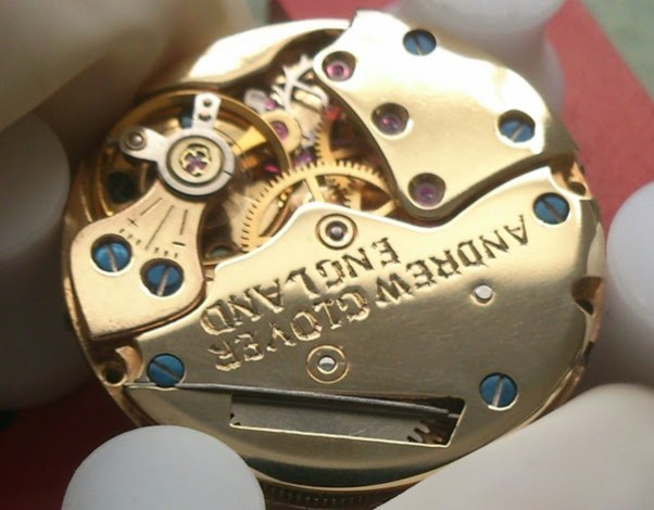 Andrew Glover limited edition watch