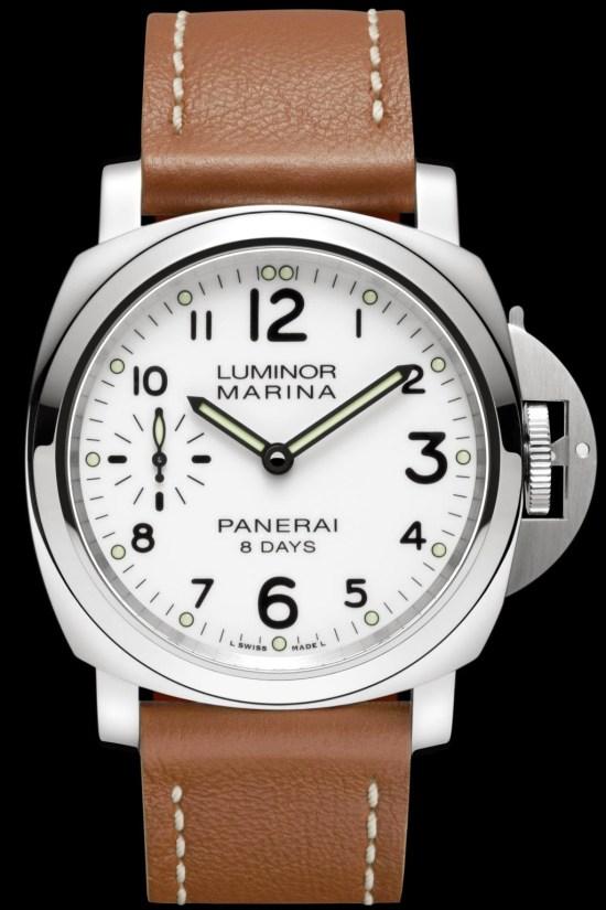 LUMINOR MARINA 8 DAYS ACCIAIO - 44mm, Reference: PAM00563