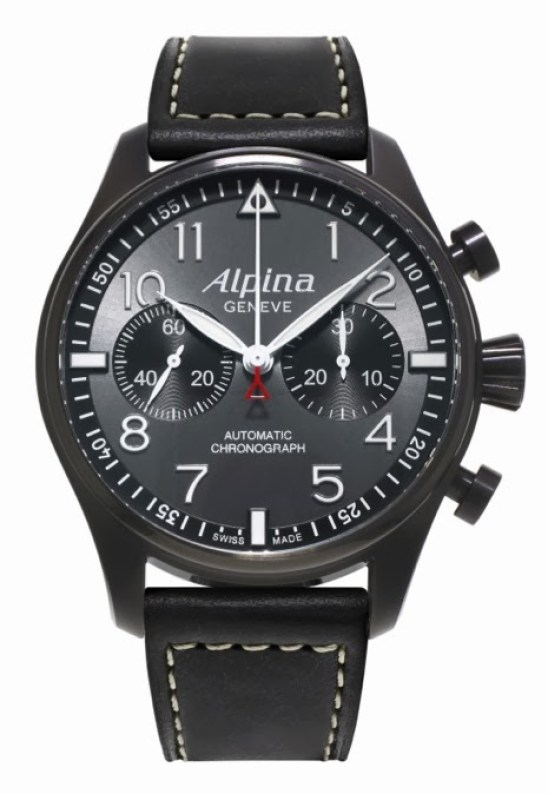 "Alpina Startimer Pilot ""Black Star"" Automatic Chronograph"