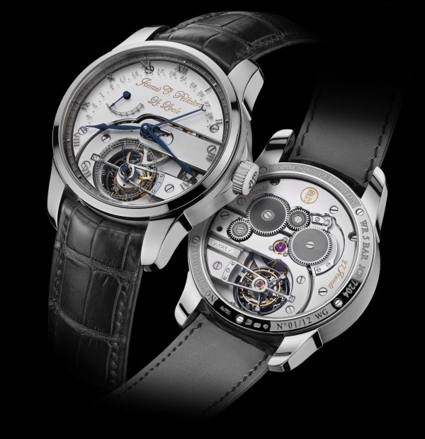 Jämes C. Pellaton Royal Marine Chronometer watch white gold model