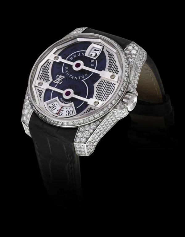 ZZ Cyclone automatic diamond watch