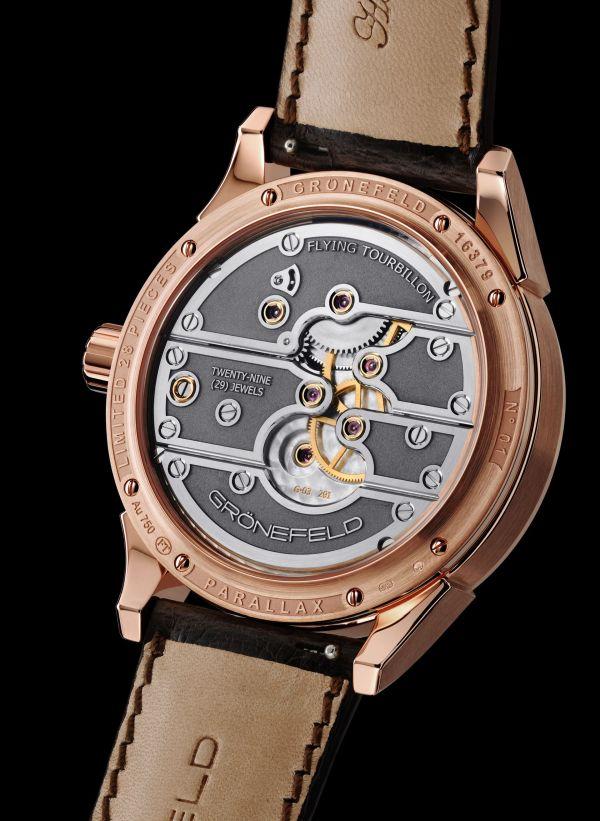 GRONEFELD PARALLAX TOURBILLON watch