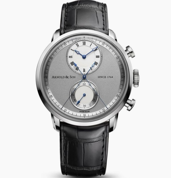 Arnold and Son Instrument CTB the World's First True Beat Seconds and Chronograph Wristwatch