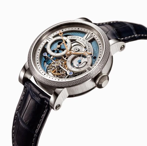 Grieb & Benzinger Blue Merit – Unique Watch Based on the Sensational Tourbillon Pour le Mérite by A. Lange Söhne