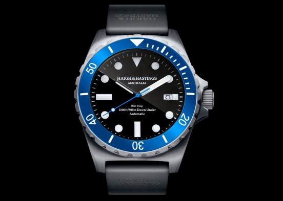 Haigh and Hastings Limited Edition M2 Diver Commemorative Timepiece 50th Anniversary of the Special Air Service Regiment (SASR)