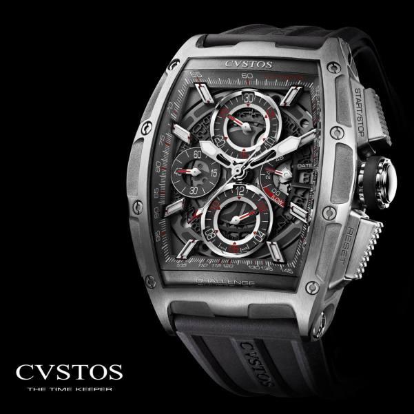 CVSTOS CHALLENGE CHRONO II STEEL