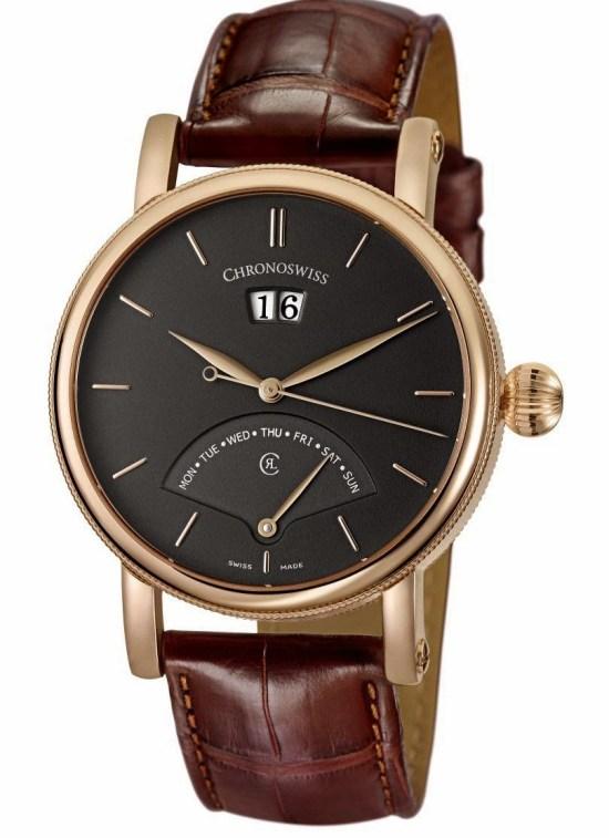 CHRONOSWISS Sirius Retrograde Day Automatic watch