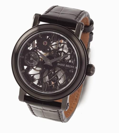 BASSE BROYE Elégance Noir watch