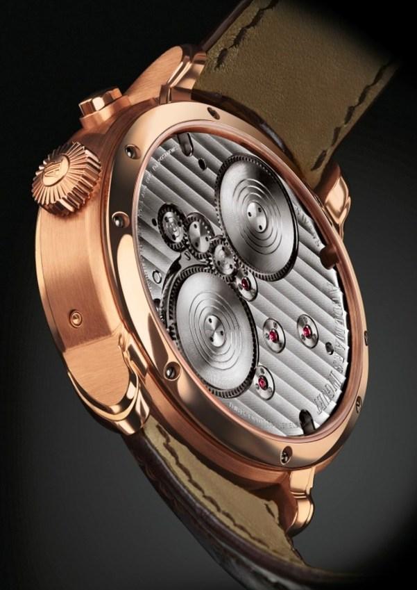 Audemars Piguet Millenary Quadriennium watch case back view