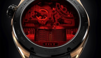 HYT SKULL Limited Edition Red Eye Case Back