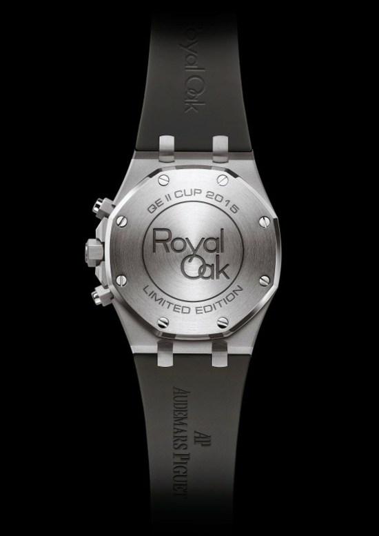 Audemars Piguet Royal Oak Chronograph QEII Cup 2015 Limited Edition watch case back