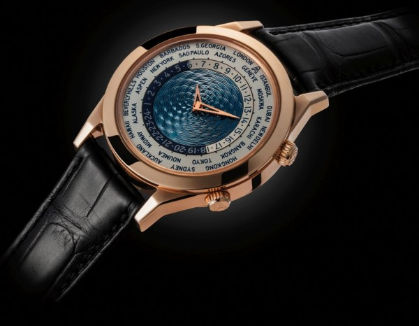 Andersen Genève Tempus Terrae 25th Anniversary Limited Edition red gold case blue dial
